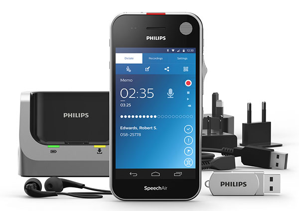 Диктофон Philips SpeechAir