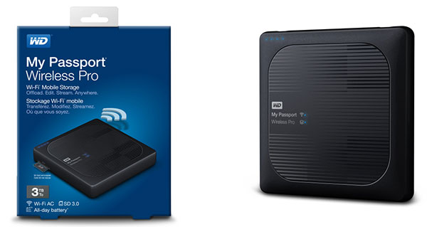 Накопитель My Passport Wireless Pro