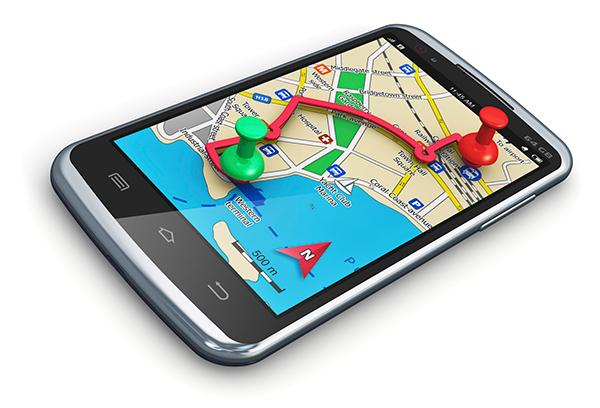 GPS навигатор на смартфоне