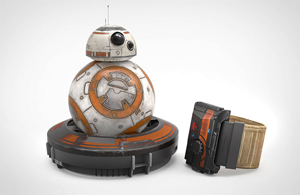Sphero Force Band и игрушка BB-8