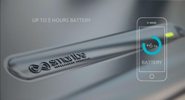 Умная коляска Smartbe - ресурс батареи