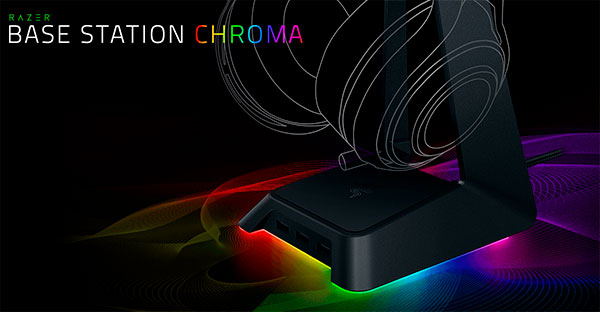 Підставка Razer Base Station Chroma для навушників