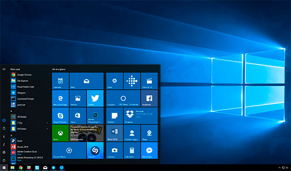Windows 10 для компьютеров