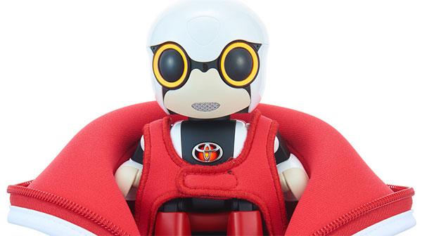Робот-компаньон Kirobo Mini от Toyota