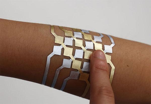 Ученые создали смарт-татуировки изсусального золота