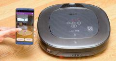 Роботизовані пилососи LG стали розумнішими та більш мобільними