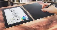 Планшет Yoga Book от Lenovo объединяет реальные заметки с цифровыми