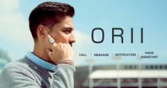 Кільце Orii дозволить відповідати на дзвінки через дотик пальця до вуха