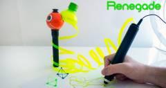 3D-ручка Renegade перерабатывает пластиковые бутылки в трехмерные скульптуры