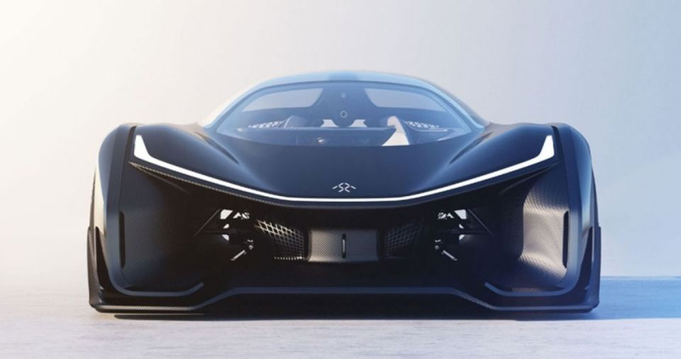 Электрокар концепт от Faraday Future, FFZero1