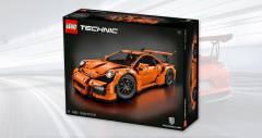 Lego Porsche 911 GT3 RS из 2704 деталей за 300 долларов США