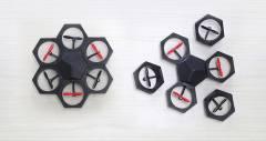 Airblock - дрон для навчання і розваги, що програмується та моделюється