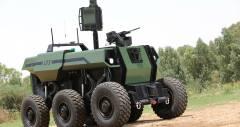 Израильские разработчики представили роботизированную военную машину