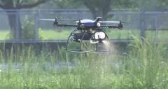 Дрон Agri Drone убивает насекомых на фермах Японии