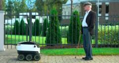 Беспилотный робот от Starship начнет развозить еду по Лондону