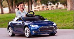 Tesla Motors Модель S – электрокар для детей