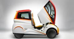 Shell и дизайнер болидов McLaren представляют совместный городской концепт кар