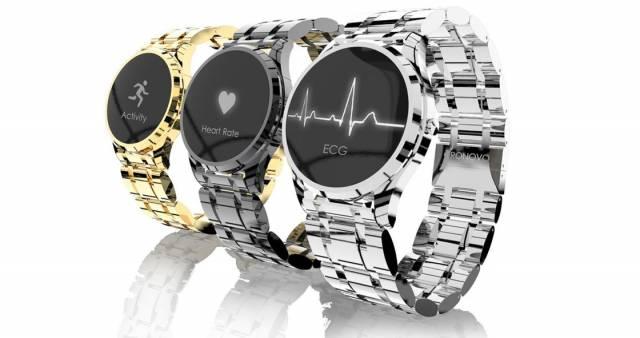 Часы Cronovo станут самым маленьким в мире аппаратом ЭКГ