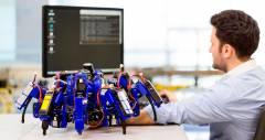 SiSpi - паукообразные 3d роботы от Siemens