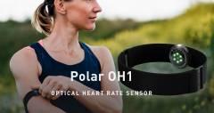 Оптический сенсор Polar OH1 крепится на руку вместо груди
