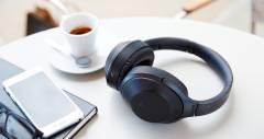 Наушники MDR-1000X от Sony поглощают внешние шумы
