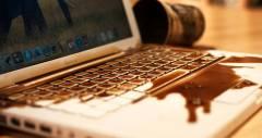 Ремонт ноутбуков после залития жидкостью — что делать?