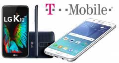 Для абонентів T-Mobile будуть доступні два нових Android пристроя - Samsung Galaxy J7 і LG K10