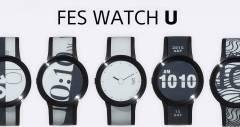 Часы на электронных чернилах Sony FES Watch U отправились на краудфандинг