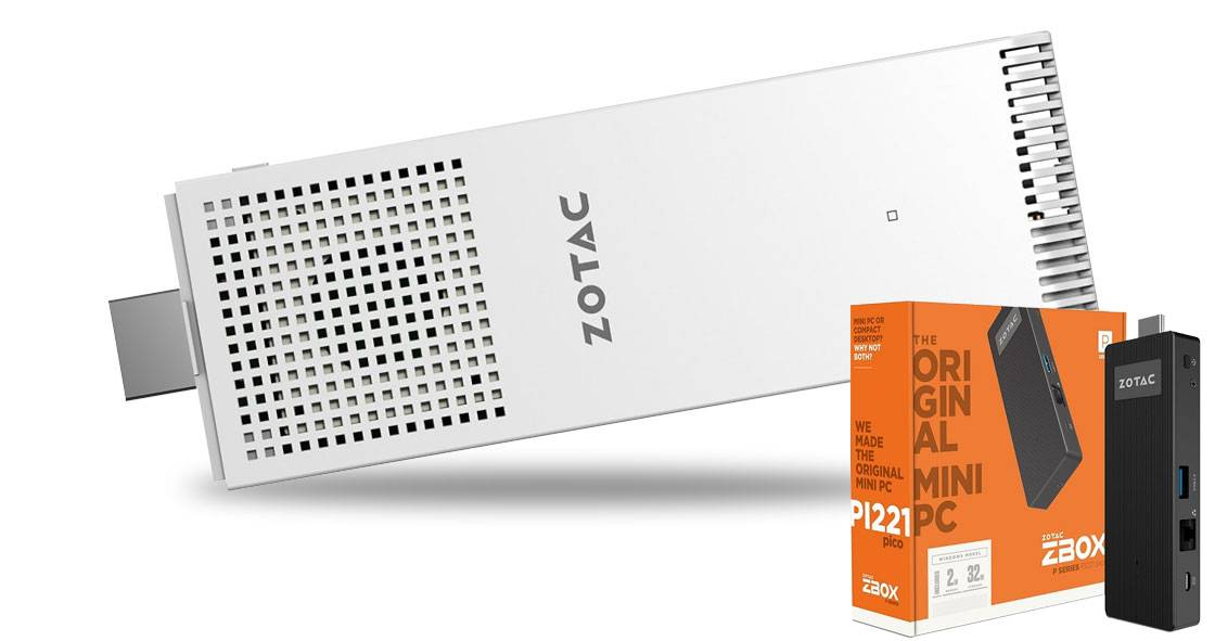 Микрокомпьютеры ZBOX PI220 и PI221 от Zotac на Windows 10
