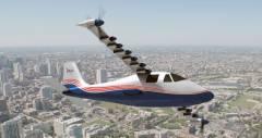 Новий експериментальний літак X-57 від NASA буде повністю електричним
