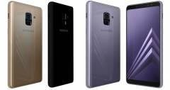 Под прицелом Samsung Galaxy A8 - новинка 2018 года от южнокорейского производителя