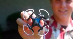 Крошечный дрон Vidius VR позволит пилотам посмотреть на землю с высоты птичьего полета
